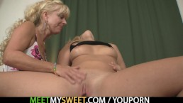 Family threesome with his...