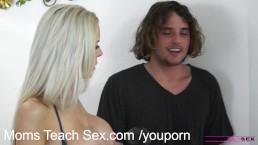 MomsTeachSex Young schoolgirl shares...