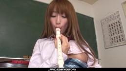 Sana Anzyu plays with...