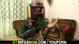 Mother inlaw taboo sex...
