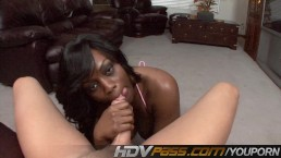 Ebony Jada Fire Blowing...