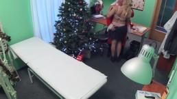 FakeHospital Doctor Santa cums...