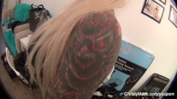 Christy Mack and Kirsten...
