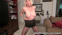 Skinny grandma Bossy Rider...