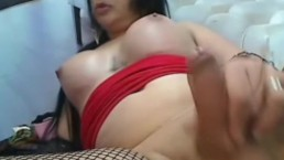 Shemale with Huge Titties...