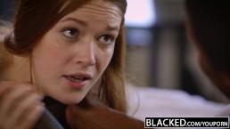 BLACKED Redhead Kimberly Brix...