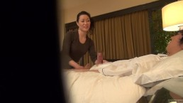 Subtitled Japanese milf massage...