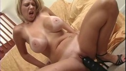 Busty milf with monster...