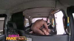 FemaleFakeTaxi Hot milf cabbie...