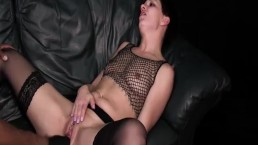 Interracial fist fucking and...