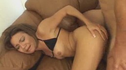 Asian Babe Gets Her...