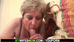 My horny mother in...