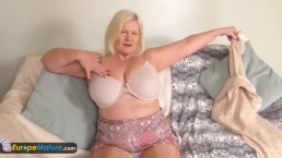 EuropeMature old blonde Lacey...