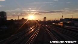 Ersties - Flashing in Berlin...