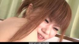 Ibuki Akitsu tries a...
