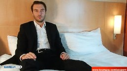 Stephane, Handsome straight banker...
