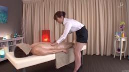 Subtitled traditional Japanese bottomless...