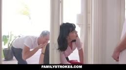 FamilyStrokes - Hot Milf Fucked...