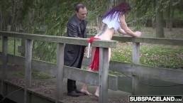 Bondage slave babe bdsm...