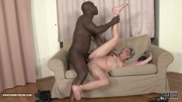 Teasing tight pussy interracial...