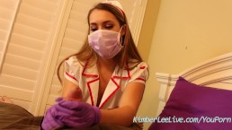 Nurse Kimber Lee Gives...