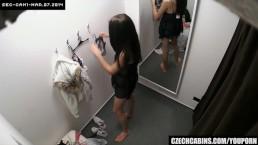 Czech teenage Fitting Bra...