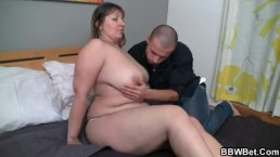 Chubby babe is pussy...