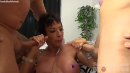 Nude Female Bodybuilder Takes...