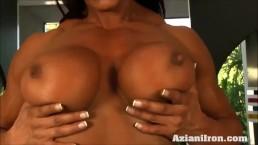 2 sexy strong women...