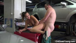 Car mechanic proves he...