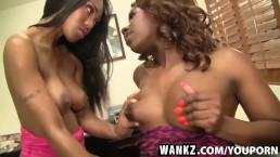 WANKZ- Lesbian Stripper Gram...