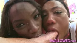 SWALLOWED Ana, Chanell and...