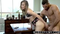 NubileFilms - Office Slut Fucked...