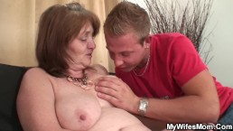 Big boobs mother in...