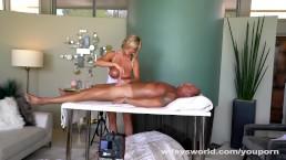 Big Tits MILF Massage...