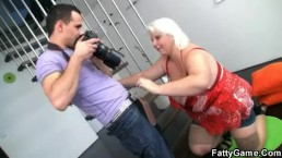 Horny photographer loves her...