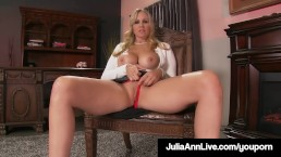 Stepmom Julia Ann Shows...