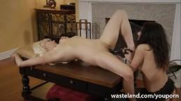Serving her Mistress! Lesbian...