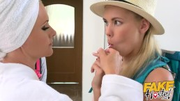 Fake Hostel - Lesbian landlady...
