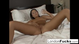 Masturbation with London Keyes...