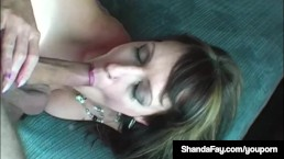Horny Housewife Shanda Fay...