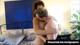 Curvy Cougar Deauxma Gets...