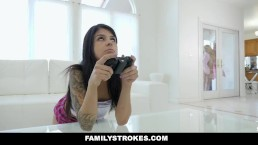 Familystrokes - Stepson Cheats on...