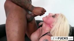 Hot big tittie blonde...