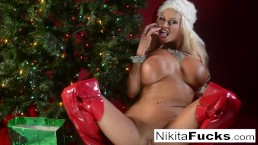 Nikita Von James celebrates...