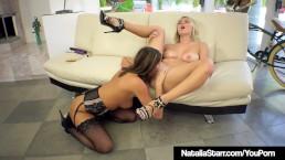 Fit Lesbian Babes Natalia...