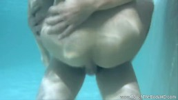Asian MILF In Water...