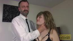 Submissive English slut dommed...
