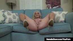 Sexy Hot Blonde Natalia...
