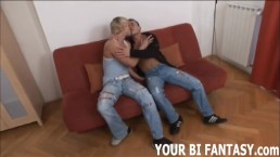 Bisexual Femdom And Strapon...